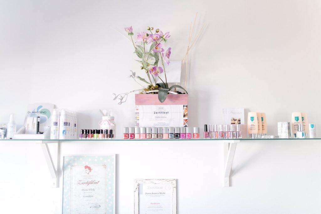 Impressionen aus dem Kosmetikstudio